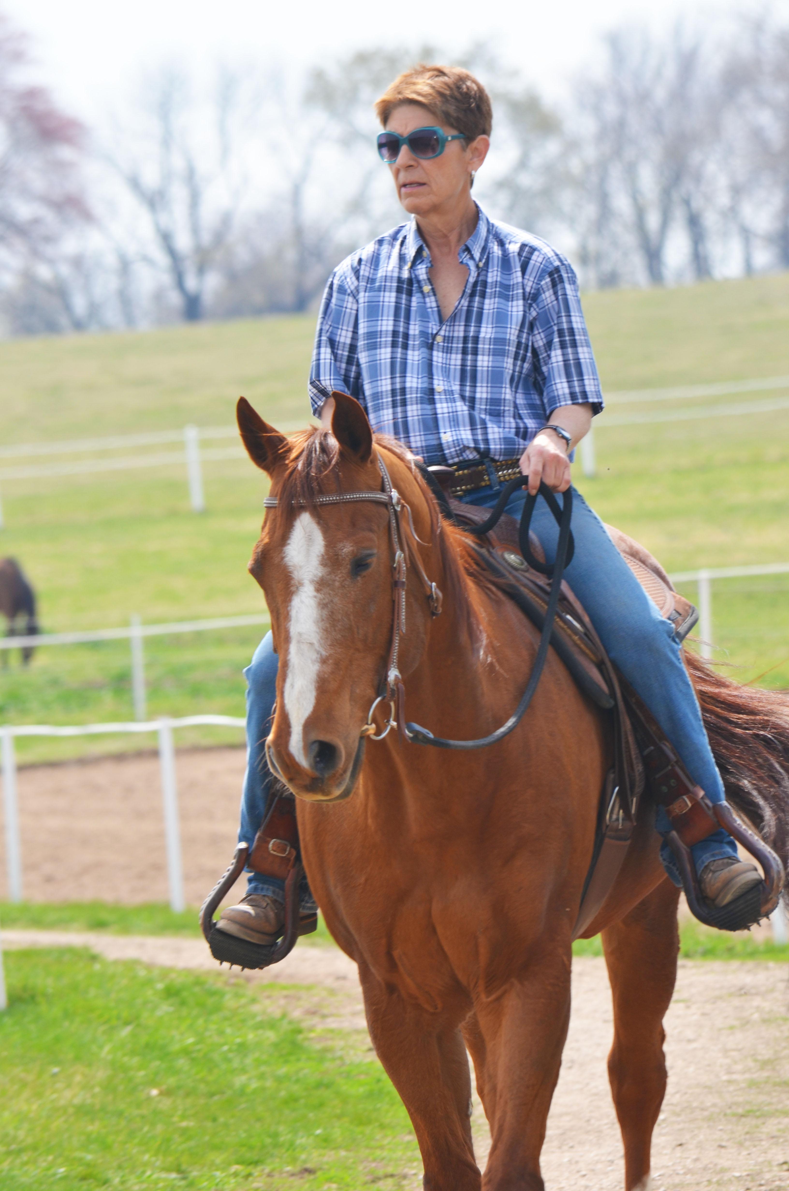 Vicki Rhaesa Horsemanship